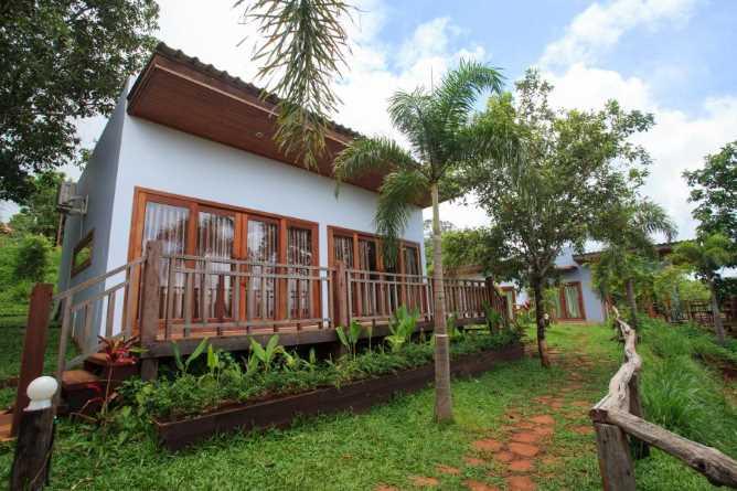 Individual bungalow accommodation