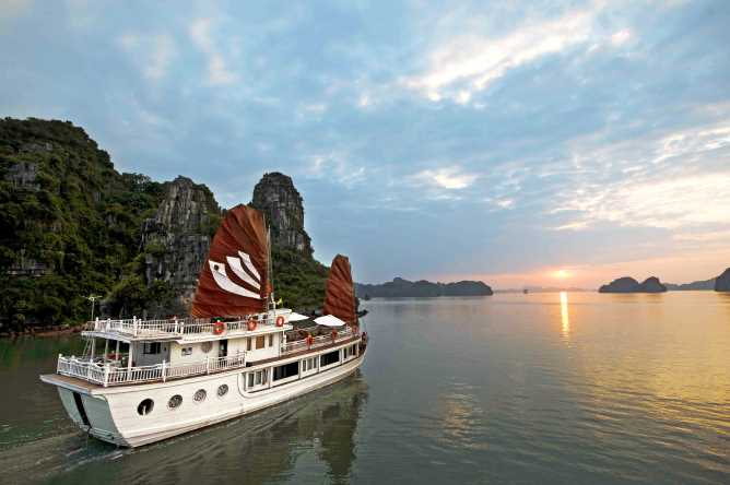 Halong Bay panoramas
