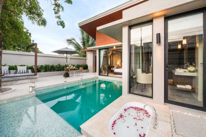 The new Garden Pool Villa