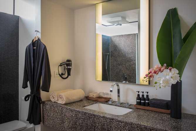 Typical bathroom decor
