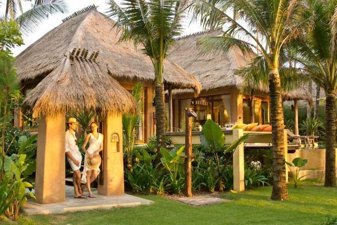 Individual pool villas