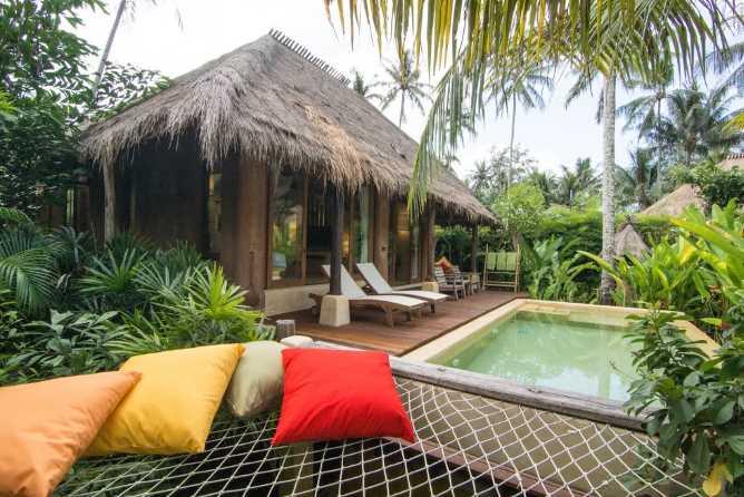 Grand Pool Villa's private pool