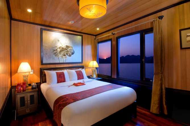 Indochina Sails Premium junk cabin