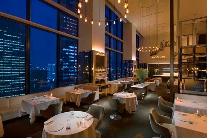 Collage fine dining restaurant